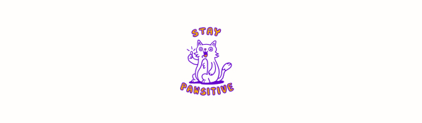 cat, positivity, pawsitive